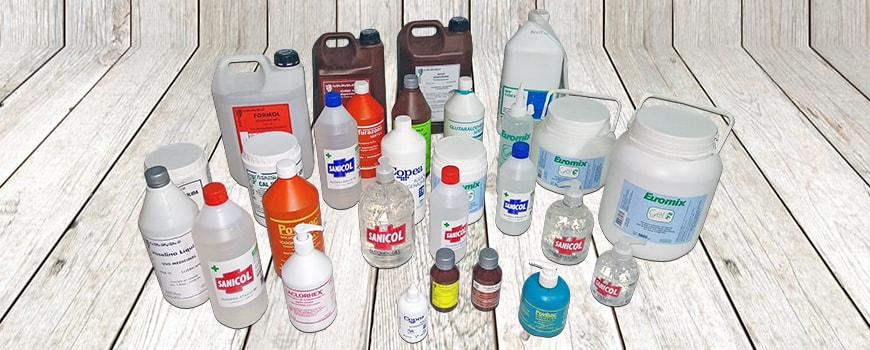 Distribuidora GEDEFE | Antisépticos y desinfectantes